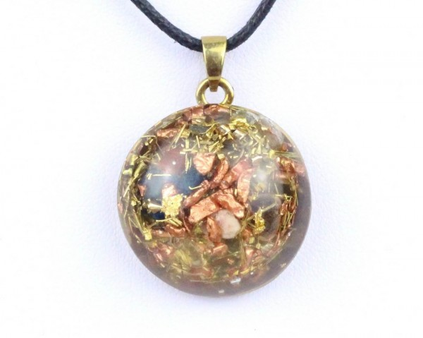 """Orpanit® Orgonit Amulett """"doublesided"""" Chartres Wendeamulett"""